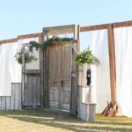 Rustic chic wedding in Suffolk, Virginia with specialty and vintage rentals by Paisley & Jade
