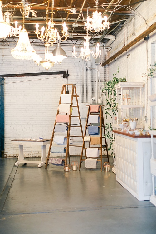 The School of Styling workshop at Highpoint & Moore in Richmond Virginia with rentals and space provided by Paisley & Jade