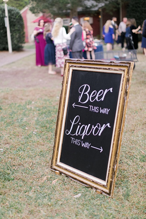 Beautiful Fall wedding at Seven Springs Farm with Star Wars inspiration and specialty and vintage rentals by Paisley & Jade
