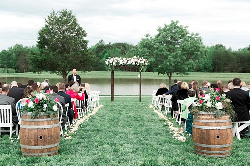 Kentucky Derby inspired real wedding in Virginia with specialty and vintage rentals by Paisley and Jade