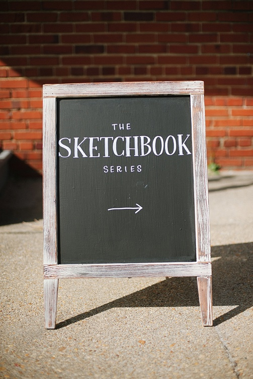 The Sketchbook Series in RVA with space and rentals provided by Paisley and Jade