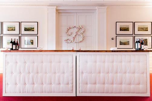 Chic and classic country club wedding near Richmond, Virginia with specialty and vintage rentals by Paisley & Jade