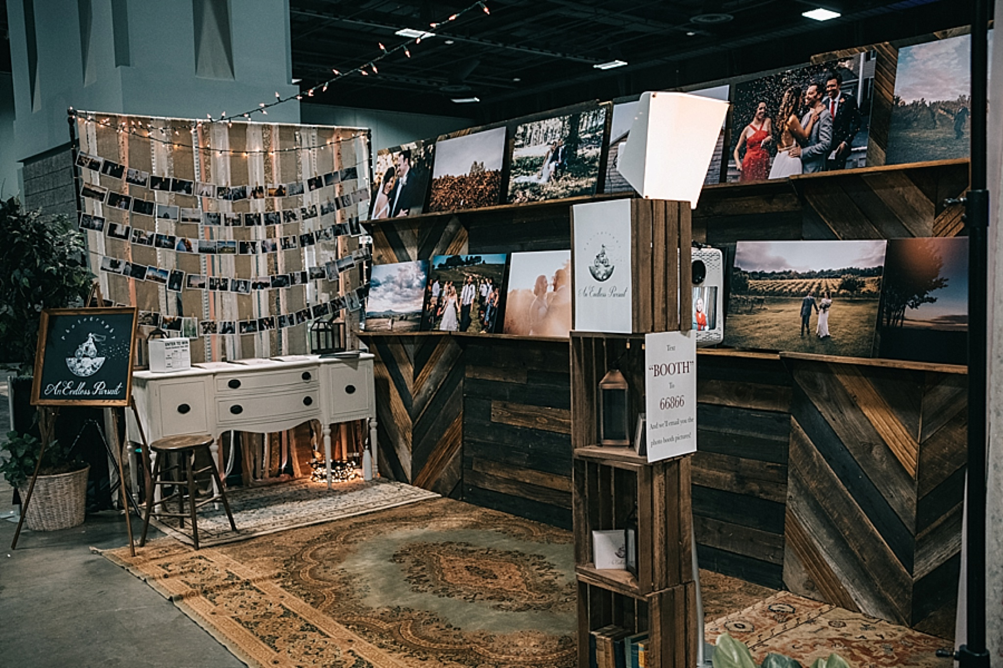 Wood Trade Show Booth : Trade show chic! professional photographer display in dc paisley