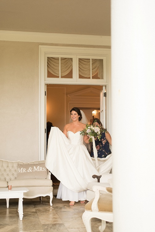 Classic and chic Southern wedding at the Wooden Sanctuary with specialty and vintage rentals by Paisley and a Jade