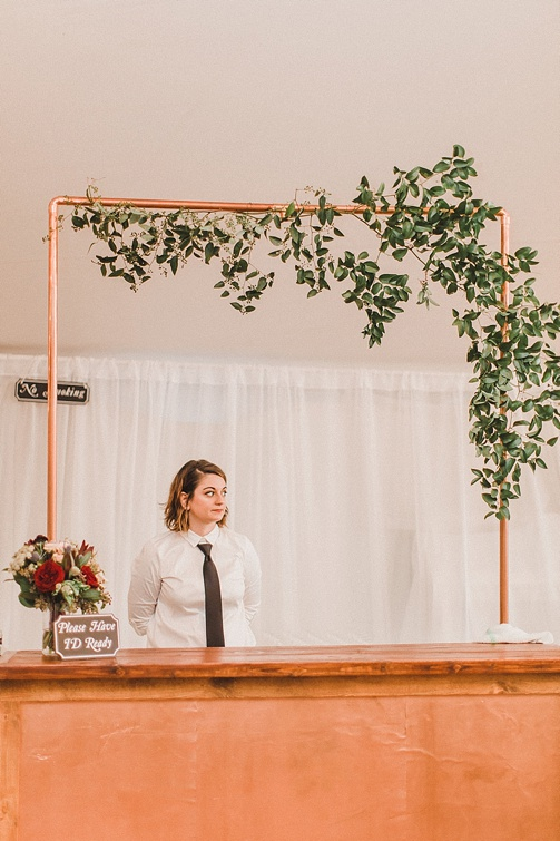 Fabulous Fall estate wedding in Richmond with specialty and vintage rentals by Paisley & Jade