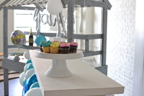 Inspiration Station Birthday Shoot at Highpoint & Moore with specialty and vintage rentals by Paisley and Jade