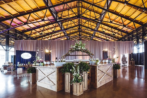 2018 NACE Gala at Main Street Station in Richmond, Virginia with specialty and vintage rentals by Paisley and Jade