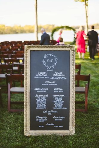 Romantic winery wedding at Upper Shirley Vineyards with specialty and vintage rentals by Paisley & Jade
