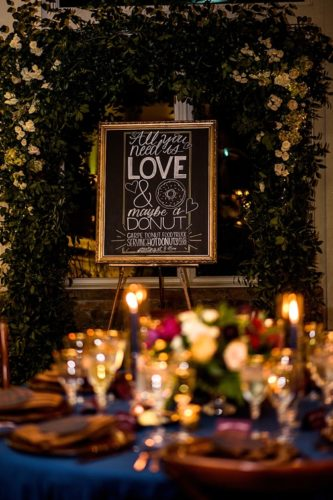 Elegant and moody winery wedding at Stone Tower in Virginia with specialty and vintage rentals by Paisley & Jade