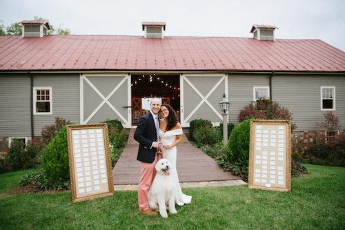 Amanda Amp Steven S Chic Blue Ridge Farm Wedding Just