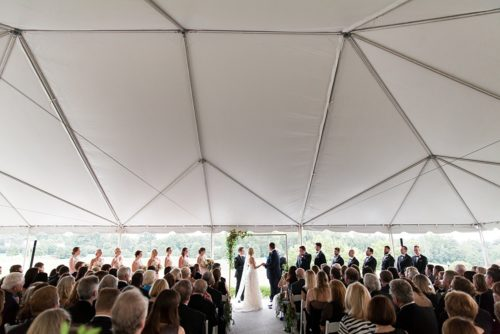 Meredith and Ken's Classic Virginia Country Club Wedding