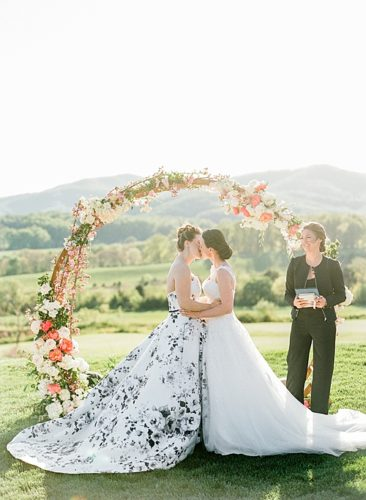 Mechelle & Julia's Whimsical Pippin Hill Wedding
