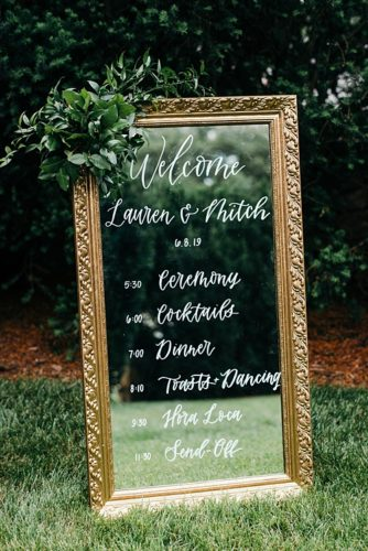 A Dover Hall Wedding Featuring Two Unique Arbors!