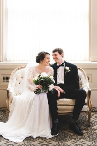 Lauren & David's Timeless Affair at John Marshall Ballrooms