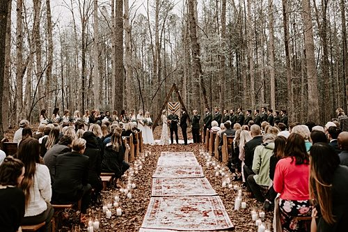 Forest Wedding with all the Edgy, Boho Vibes!!