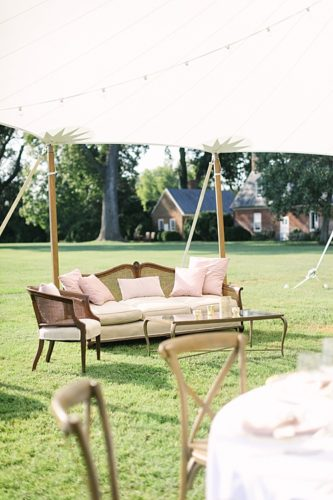 A Westover Plantation Wedding Filled with Outdoor Lounge Areas!