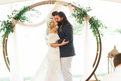 "Claire & Paul Say ""I do"" at their Intimate Tented Affair!"