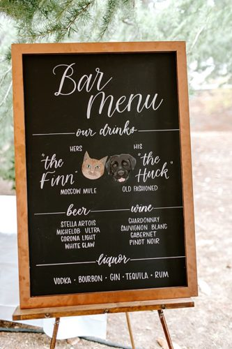 A Sabot at Stony Point Wedding filled with #pandjlettering!