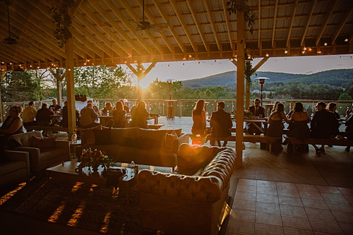 A Relaxed Wolf Trap Farm Wedding with Logan Paige Events!