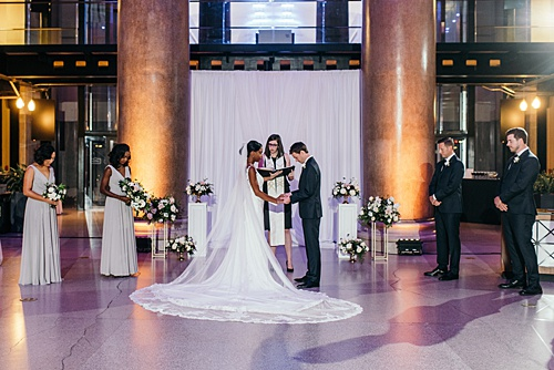 Danielle & Kevin Say 'I Do' at the Science Museum of Virginia!