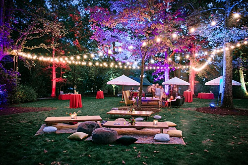 A Vibrant Outdoor Wedding with Eclectic Flair!!