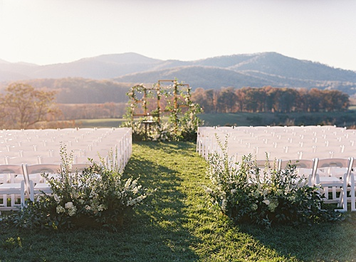 P&J's Freestanding Frame Background Set the Scene at this Picture-Perfect Pippin Hill Vineyard Wedding!
