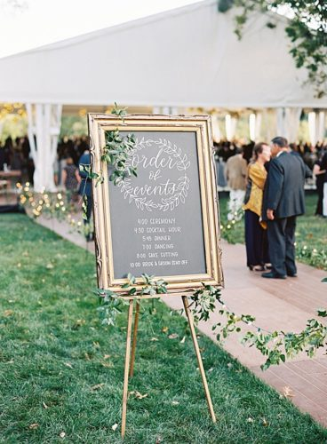 A Bright Tented Affair filled with #pandjlettering and #pandjpretties!