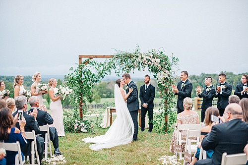A Mount Ida Wedding with Kate Phillips Events!