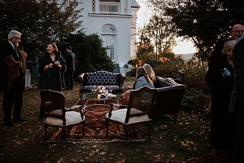 An Intimate Vineyard Wedding with a Moody Vibe
