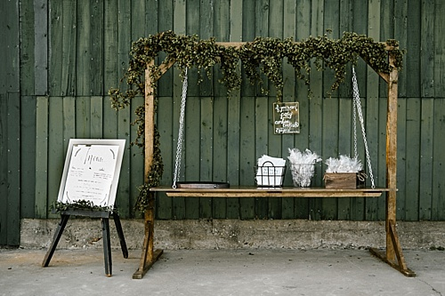 hanging farm table