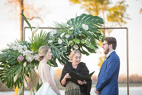 Cable & Zach's Vineyard Wedding with Tropical Flair!