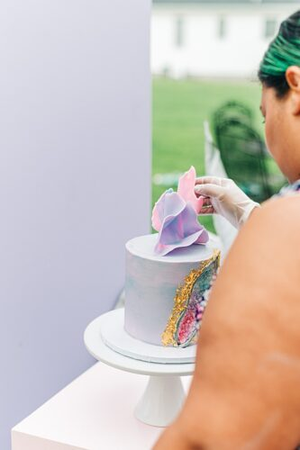 Colorful styled shoot