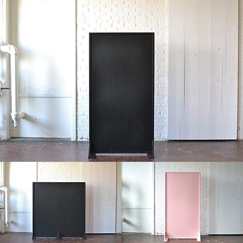 chalkboard panel: pink panel, 6' wide chalkboard panel